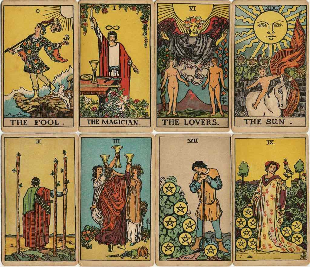 Magician Tarot Card